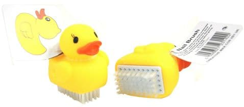 Twin Pack of Small Novelty Duck Nail Brushes